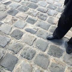 Haussmann-approved cobbles