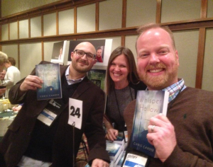 with Mark Haber and Jeremy Ellis of Brazos Bookstore at Wi10