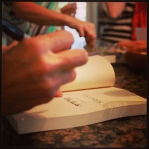 Fun Thursday book signing.