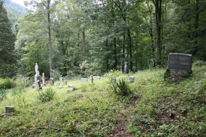 cemetery near Logan, WV
